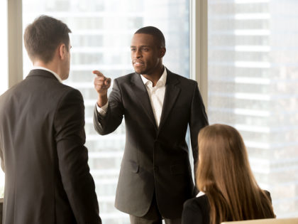 racially discriminatory behavior in the workplace